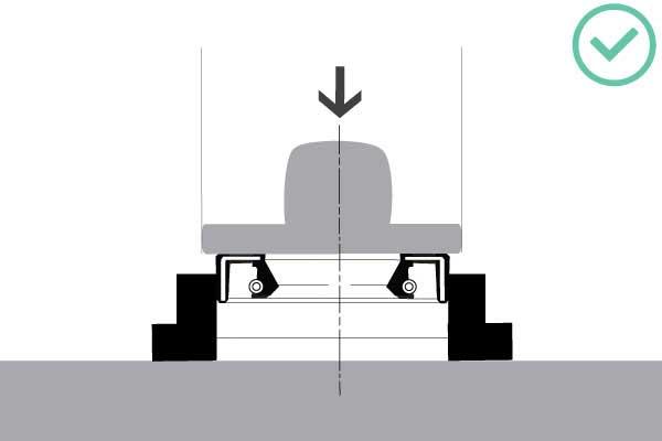 توقف نصب سطح در روند نصب انواع کاسه نمد (01)